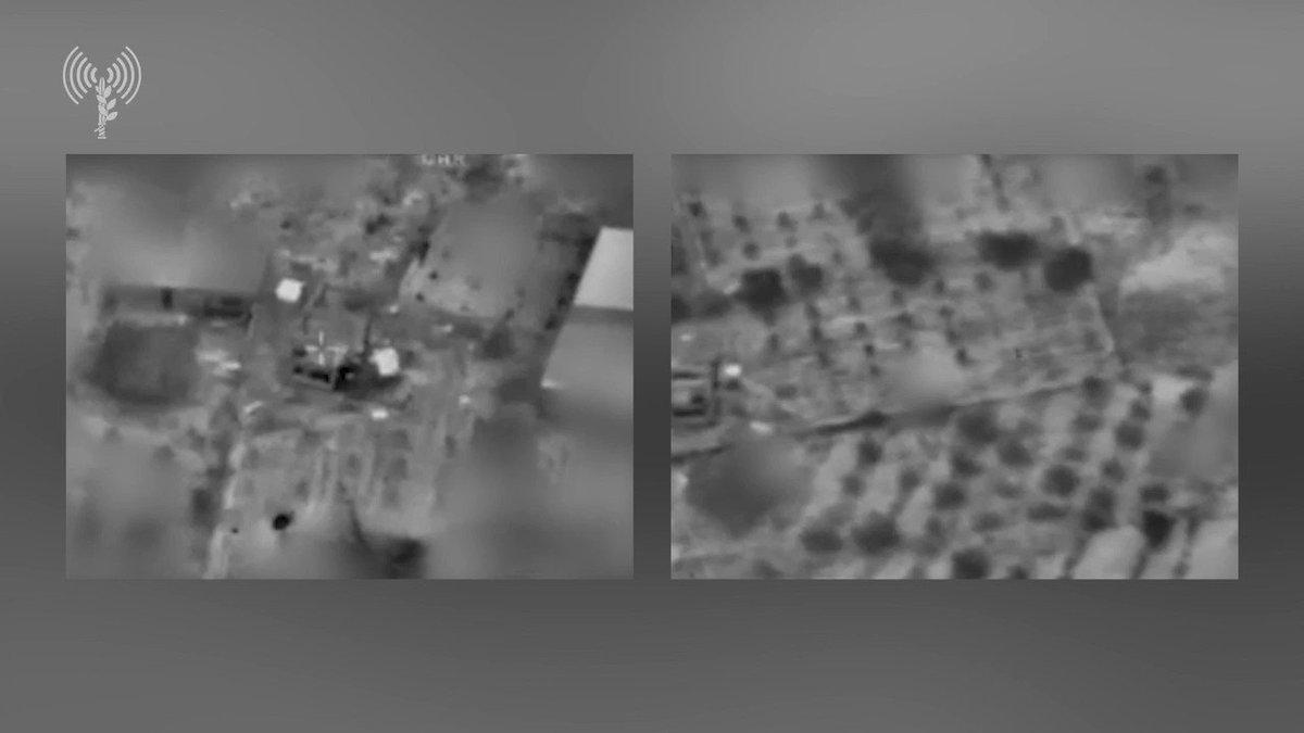 فيديو الغارات الجوية التي شنتها الطائرات الحربية الليلة الماضية على مواقع لحماس
