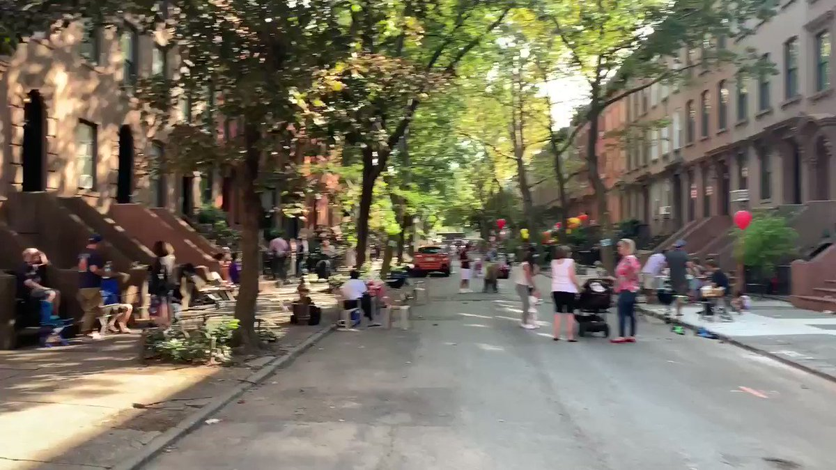 """A perfect example of why urban design should support community life in the public realm. """"The Social Life of Streets"""" matter more than cars."""