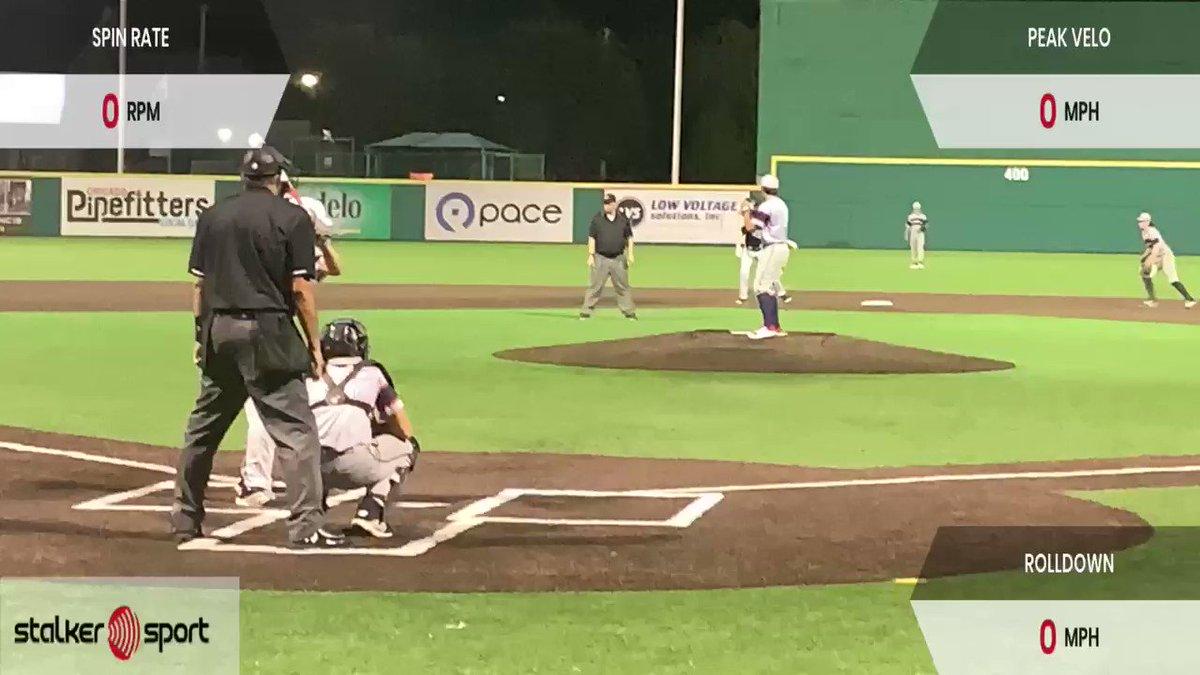 Image for the Tweet beginning: Evan Chung 2022 Evolution Baseball  Sits