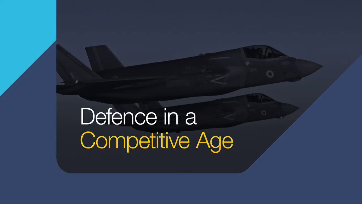 We're gearing up for #DSEI2021 this week! Find out what defence in a competitive age means for our UK Armed Forces.👇@DSEI_event