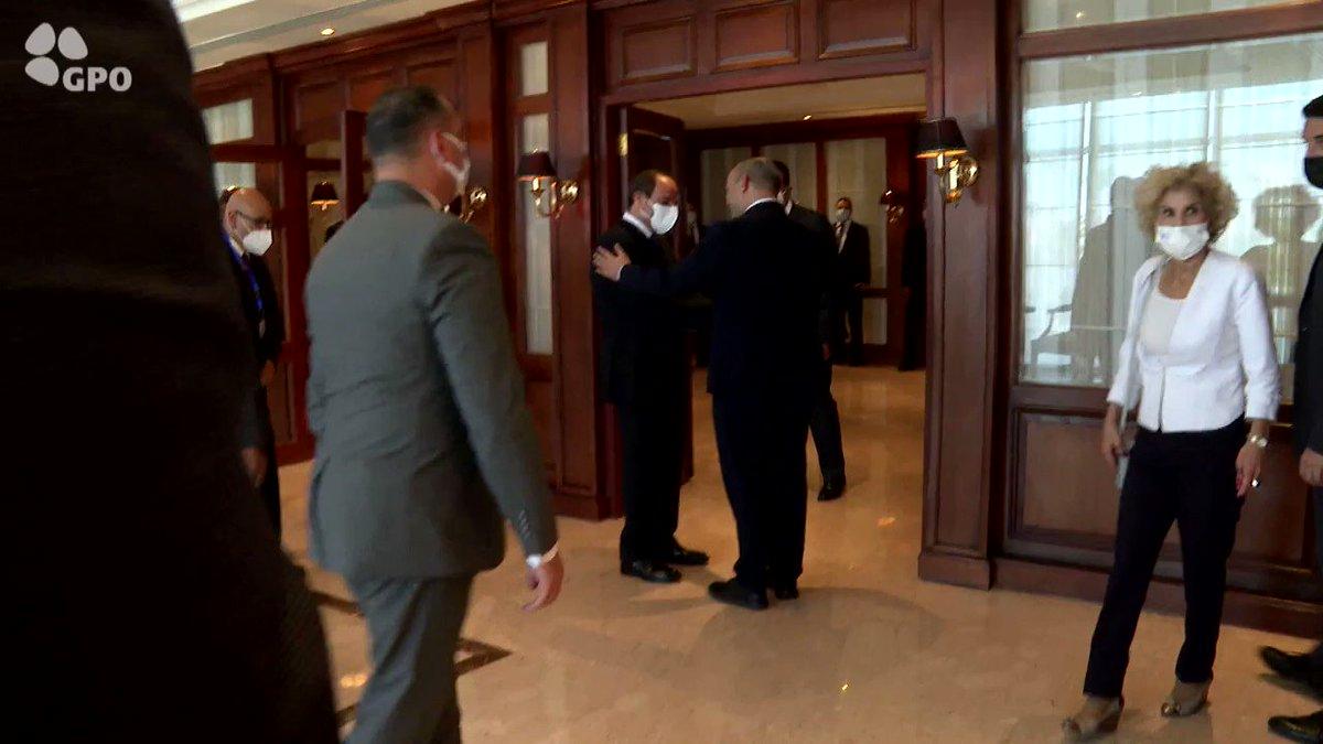 شاهدوا: لقاء رئيس الوزراء نفتالي بينيت مع الرئيس المصري عبد الفتاح السيسي في شرم