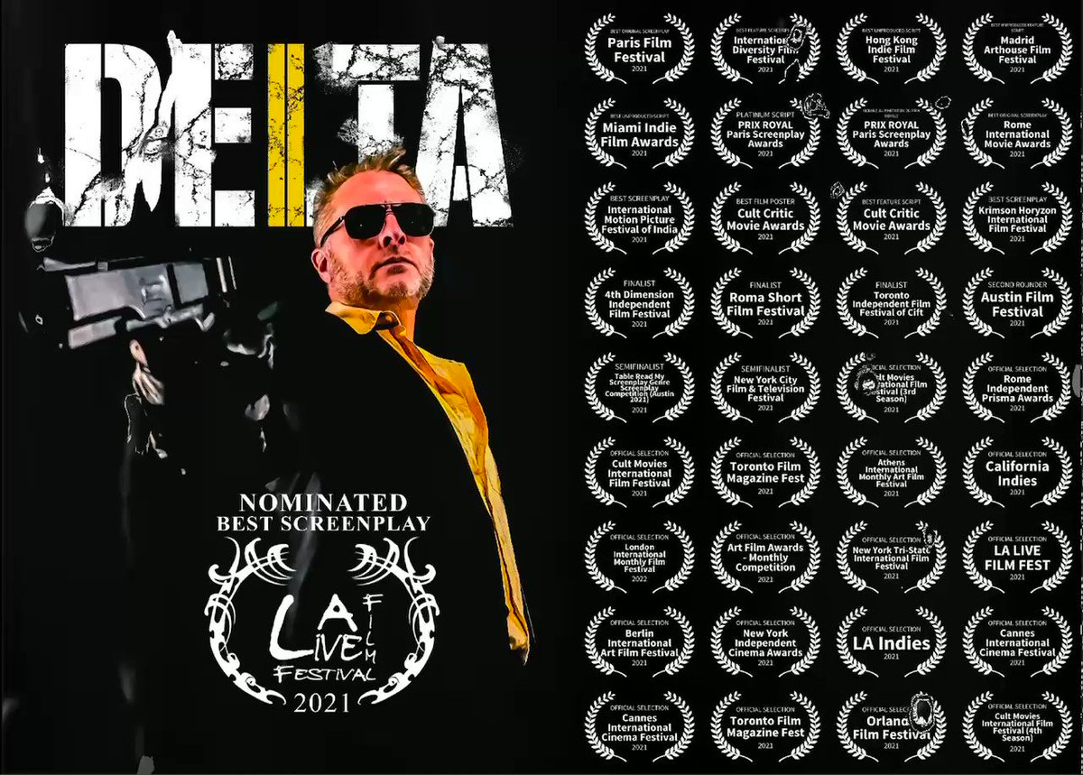 Image for the Tweet beginning: My screenplay DELTA has now