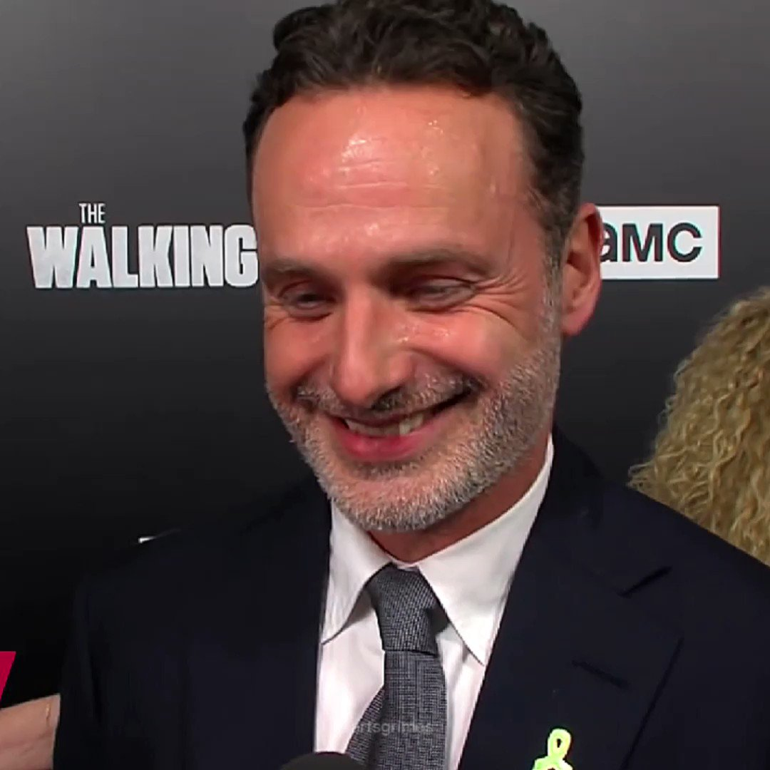 Happy birthday andrew lincoln! he means so much to me, love him.