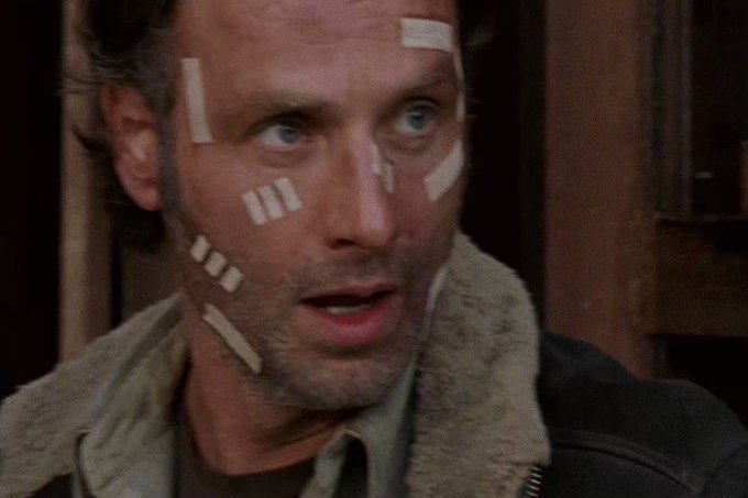 Happy birthday to the great leader Andrew lincoln ..