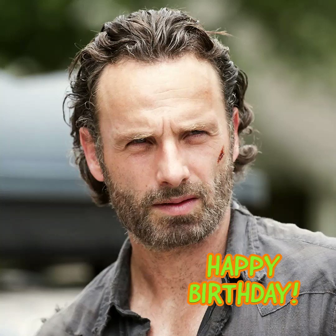 Happy Birthday to Rick Grimes himself, Andrew Lincoln!