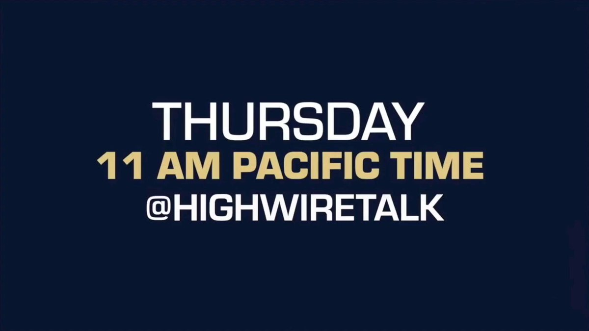 Big hospital #Whistleblower coming up on #TheHighWire