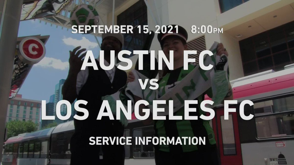If you are headed to @Q2Stadium for tonight's @AustinFC match, we are anticipating delays to our bus service.   #MetroAlerts can provide the latest route-specific information: https://t.co/zfZZYfnCl9  We apologize for the inconvenience and thank you for your patience.