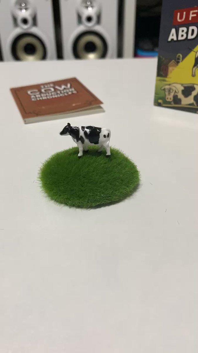 UFOが牛さらうおもちゃ買った🛸🐄
