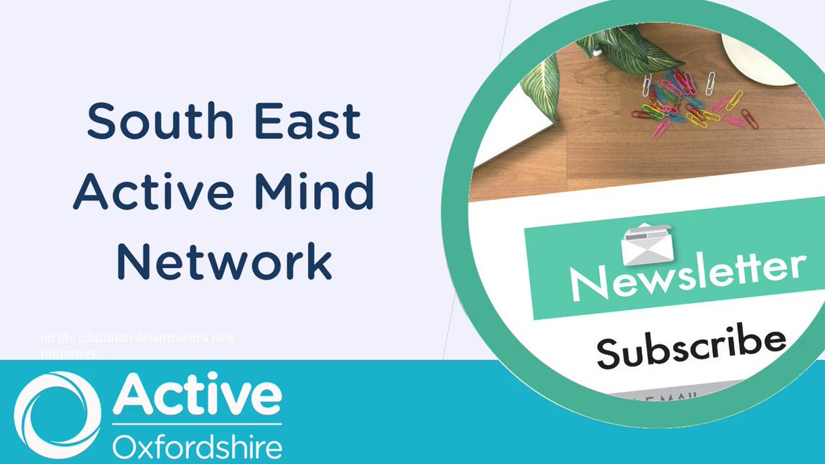 The new South East Active Mind newsletter is out! Read about: @MindCharity Children & Young People Physical Activity Workforce Survey, @age_uk report into older people & mental/physical health, & much, much more! Find it here 👇 https://t.co/e2kdnTwB6q #MentalWellbeing