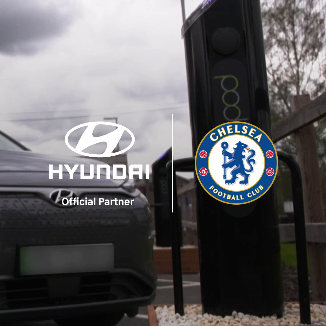 How do you #TurntheBluesGreen? With the KONA Electric! We teamed up with @ChelseaFC to provide the @ChelseaFCW players with KONA Electric cars and install charging points across the training ground. Watch the full video to see what they thought: https://t.co/YAIqif18ay https://t.co/3Gca58RAah
