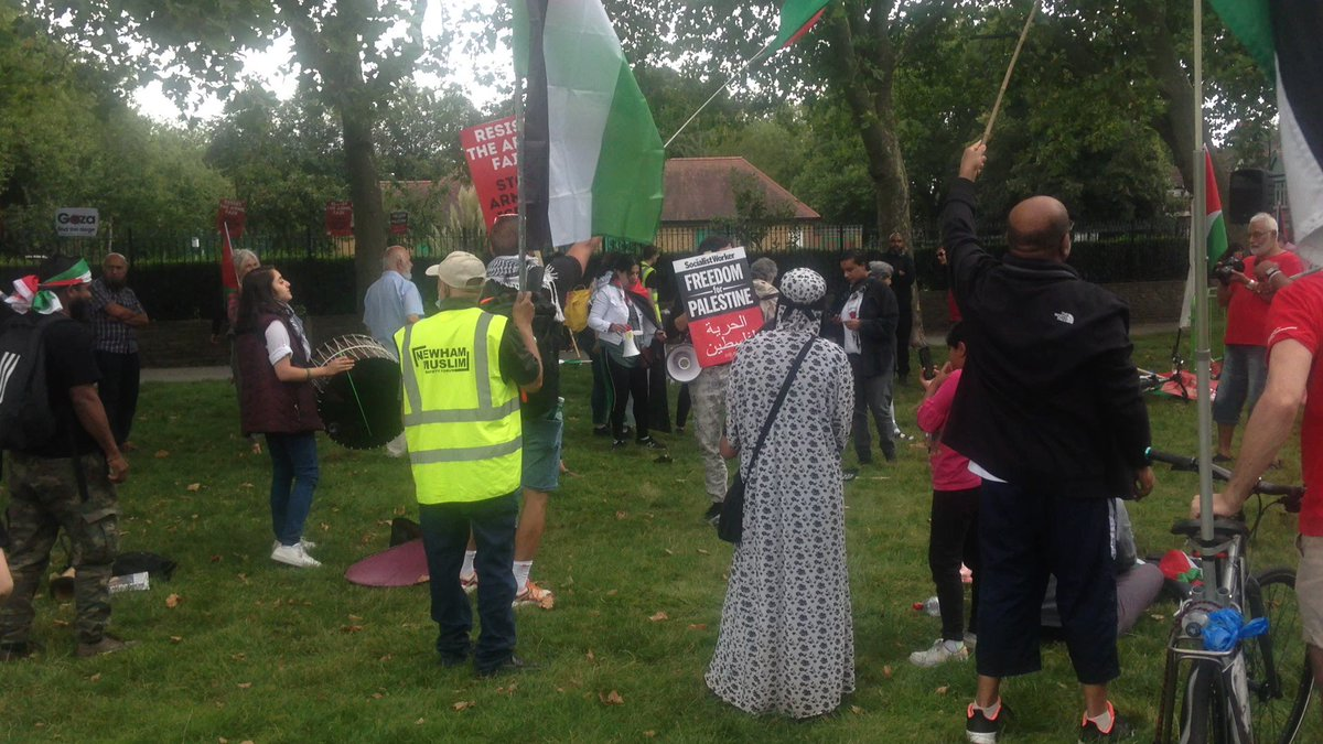 We're not staying silent! #StopArmingIsrael #stopDSEI