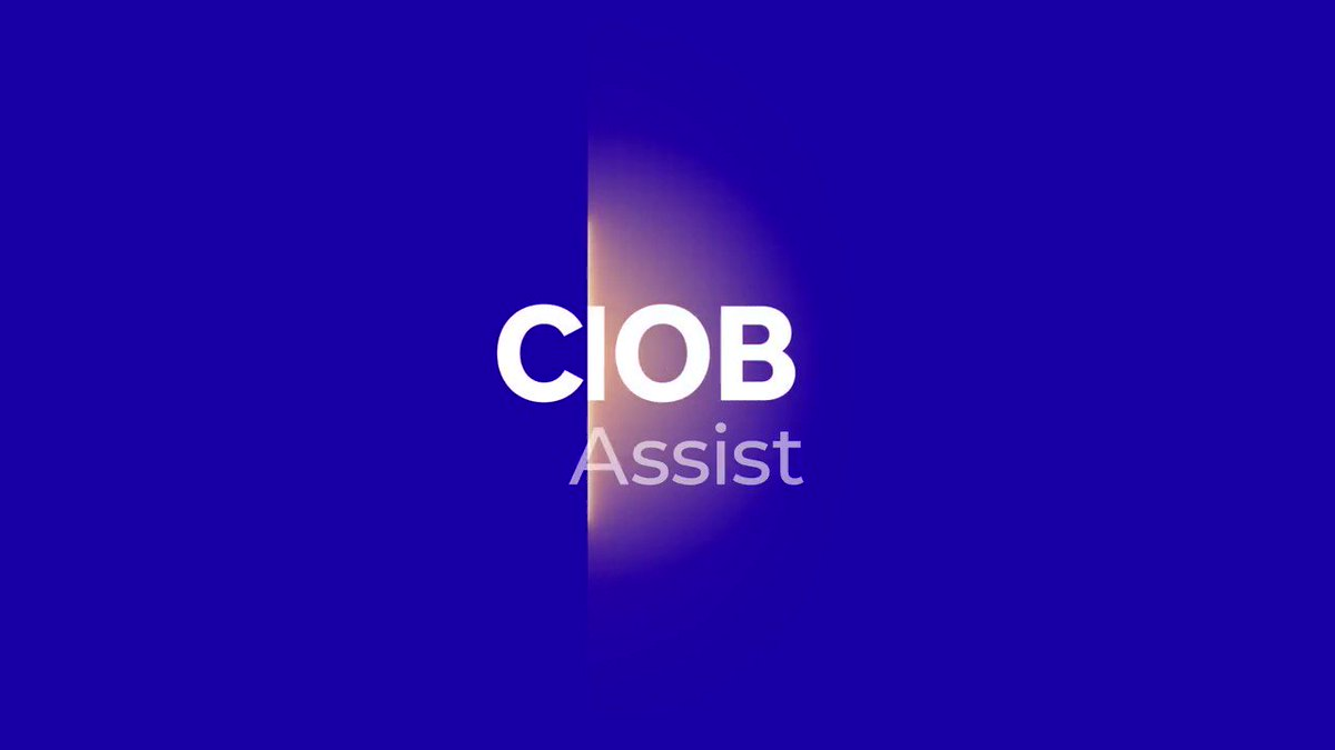 Every year, hundreds of @theCIOB members find themselves facing unexpected challenges.  @WeAreMcAlpine is proud to be supporting #CIOB, its members and their families with CIOB Assist.  Because #MentalHealth and #Wellbeing in #Construction matters. https://t.co/LPgwT6N9J6