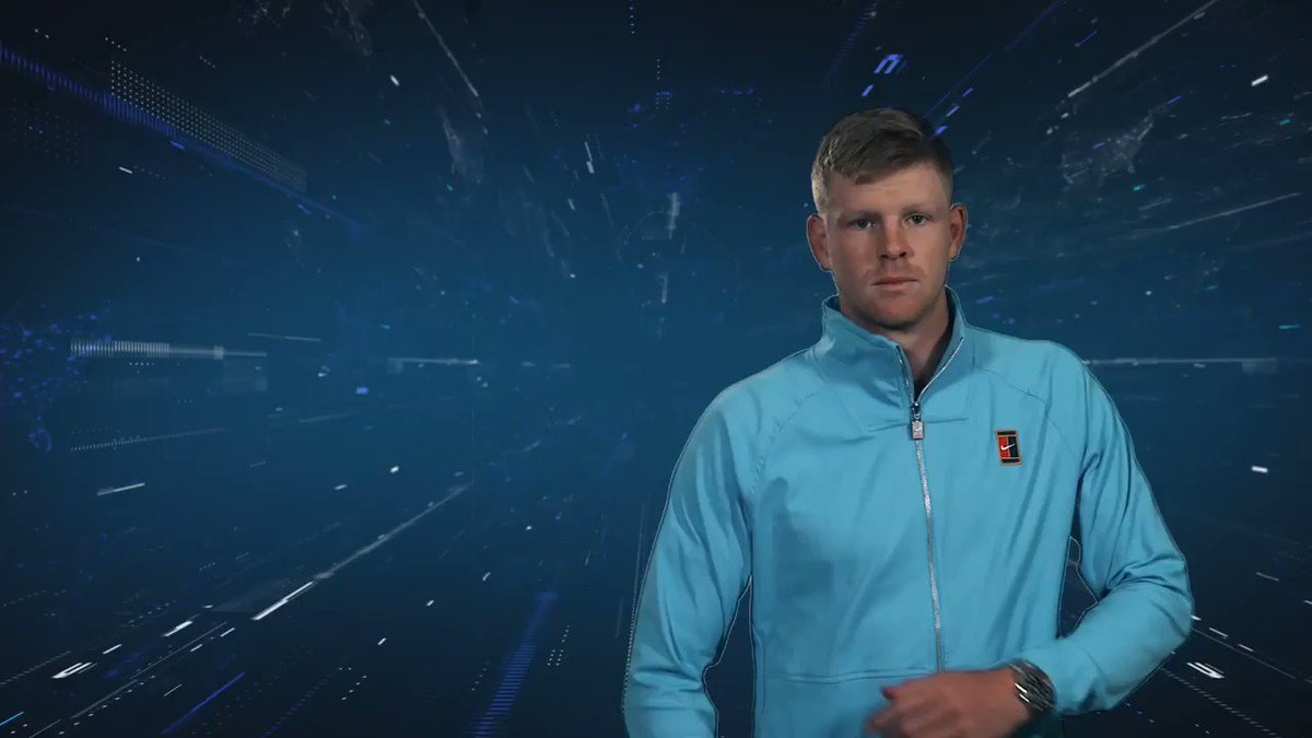 The final player to complete Team England is Kyle Edmund, who's ready for the #battleofthebrits ⁉️🎾🏆 @kyle8edmund @PandJLive