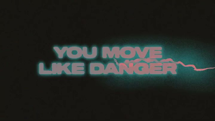 Image for the Tweet beginning: You move like danger, but