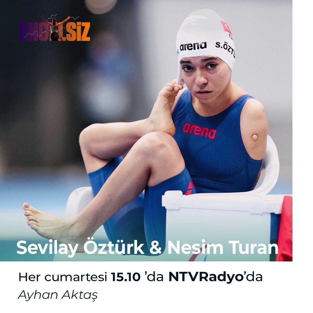 #Tokyo2020'den bronz madalyalarla dönen milli sporcular Sevilay Öztürk ve Nesim Turan nasıl kazandıklarını anlattılar. Ayhan Aktaş'ın programı #Engelsiz 15.15'te tekrarı 23.15'te NTVRadyo'da. ntvradyo.com.tr/canli-dinle