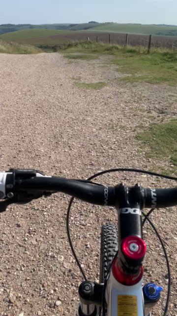 Beautiful day for a ride #SouthDownsWay