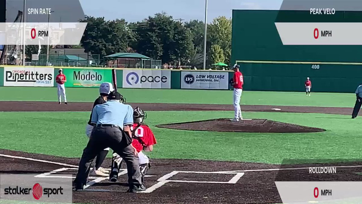 Image for the Tweet beginning: John Carlson 2022 Citius Illinois Red Sits77-79