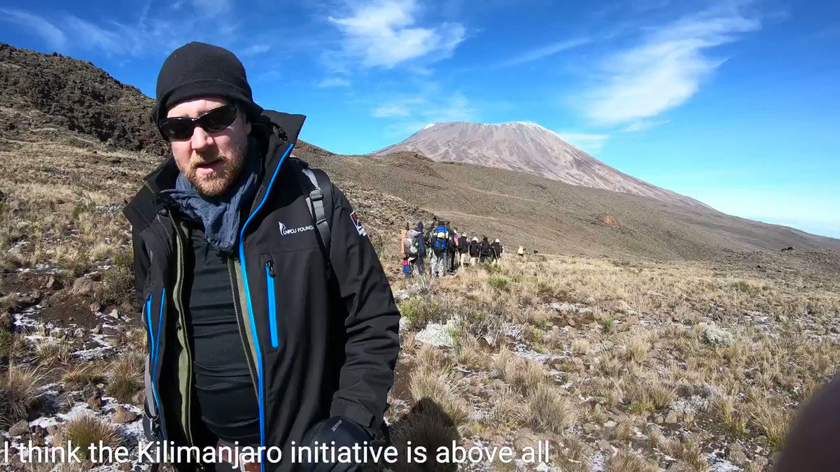 An Interview with @TChallenKI on how the Kilimanjaro Initiative is helping to overcome prejudice and remove barriers so that people can understand each other, and work together, to build a better world.   #SupportTheBigClimb for #VaccineJustice in #Africa and beyond.