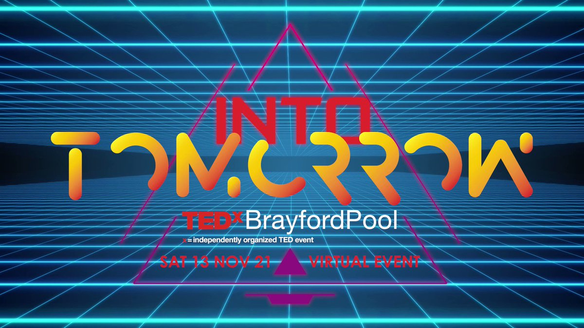 So looking forward to this! Currently coaching this year's cohort on their journey towards the red dot! Then hosting the event on the day…perfect! #tedxbrayfordpool