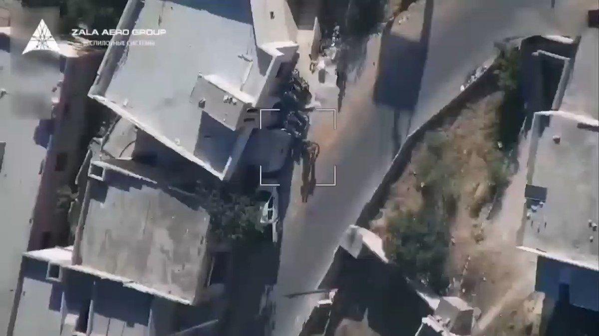 🇷🇺⚡The work of a reconnaissance drone from the Russian company ZALA AERO in the sky of Syrian Idlib.  #Syria #BreakingNews   Suriye İdlib'in gökyüzünde Rus şirketi ZALA Aero'dan bir keşif uçağı çalışması. #SonDakika