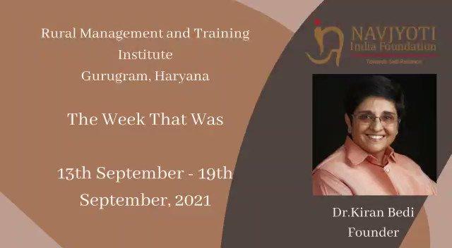 The Week That WAS IN @NavjyotiIF RURAL PROJECTS. @Chandni_Bedi @BediUjala  Training with widows under Project Jeeva on self-esteem and self-reliance. https://t.co/8yOHOvGuDM