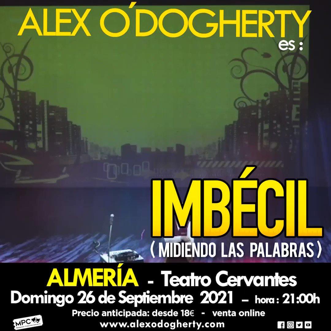 📣 ¡Almería qué voy! ¡Paso lista! ✍️  𝐞𝐧𝐭𝐫𝐚𝐝𝐚𝐬 👉https://t.co/IffbOVI04m  #IMBECIL #IMB3CIL #Almeria