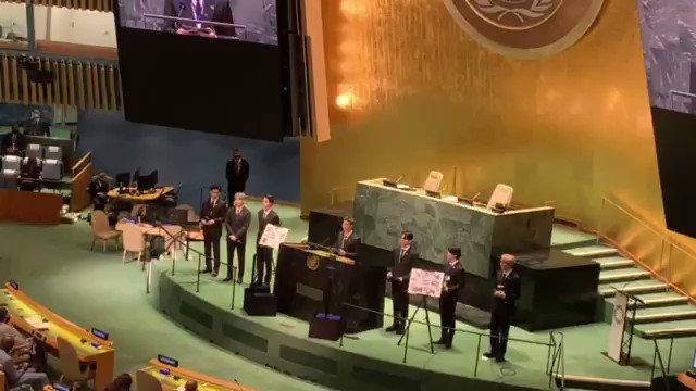 BTSの国連総会演説、