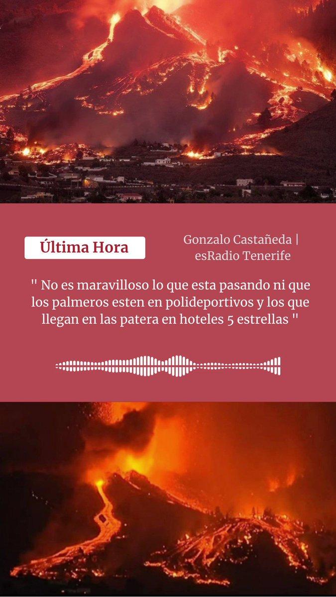 Image for the Tweet beginning: 🔴#ÚltimaHora en #EsLaMañanaDeElcheYComarcas 👉 Erupción 🌋