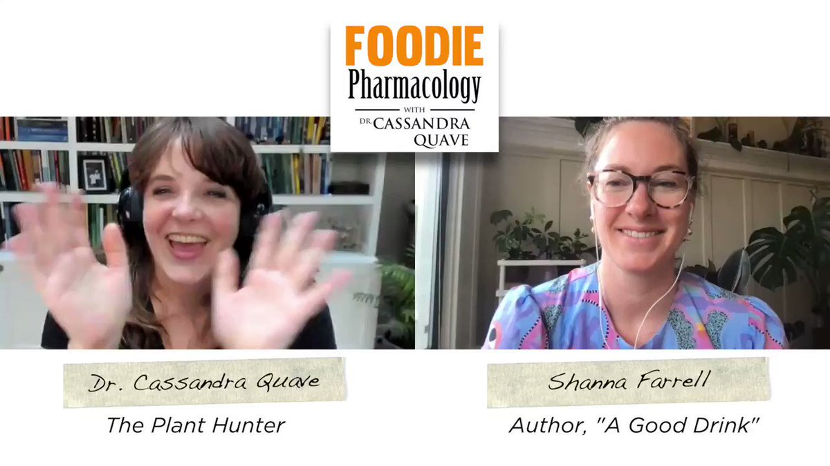 """Who's ready for A Good Drink with @shanna_farrell ?  This week we talk about spirits, cocktails, and….. sustainability! My guest is Shanna Farrell, author of the new book """"A Good Drink: In Pursuit of Sustainable Spirits.""""   https://t.co/GBYT1QM0Ct"""