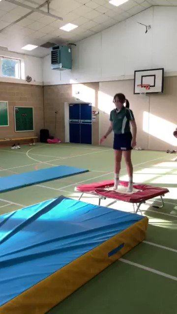 Great to see Year 6 honing their gymnastics routines - never a dull moment at the OPS!  #Gymnastics #OPS #IntegratedEducation