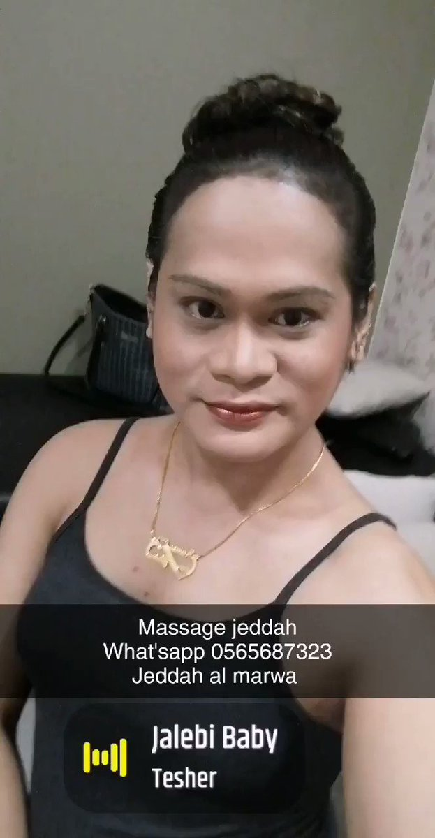 Massage here in saloon jeddah al marwa..... My name is glaiza.. If u are interested just beep me in my what'sapp 0565687323...im gay.. Im shemale.. I'm ladyboy... Massage relax.. Massage body to body.... Hammam magrabhy..... Massage_jeddah