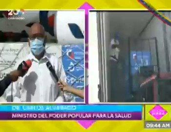 Image for the Tweet beginning: #EnVideo 📹 Ministro @AlvaradoC_Salud: Ocho