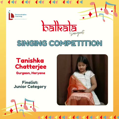 3) On @DemonstrativeLE  finalists for the Balkala Sangeet: Singing Competition 🎶  May listen to contestants & choose the best one (according to you) from given categories.  The deadline to cast your vote is Thursday afternoon i.e.22nd Sept @IVFoundation  @SainaRBharucha https://t.co/HUyVL8LiK1