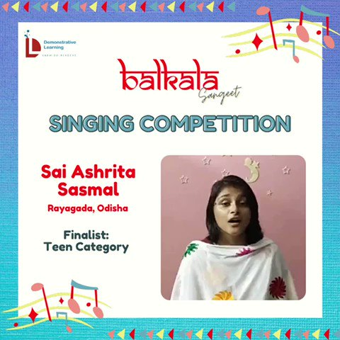6) On @DemonstrativeLE  finalists for the Balkala Sangeet: Singing Competition 🎶  May listen to contestants & choose the best one (according to you) from given categories.  The deadline to cast your vote is Thursday afternoon i.e.22nd Sept @IVFoundation  @SainaRBharucha https://t.co/McshD6GNJJ