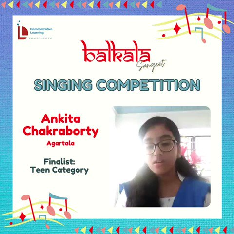7) On @DemonstrativeLE  finalists for the Balkala Sangeet: Singing Competition 🎶  May listen to contestants & choose the best one (according to you) from given categories.  The deadline to cast your vote is Thursday afternoon i.e.22nd Sept @IVFoundation  @SainaRBharucha https://t.co/wy5eLjnSxs