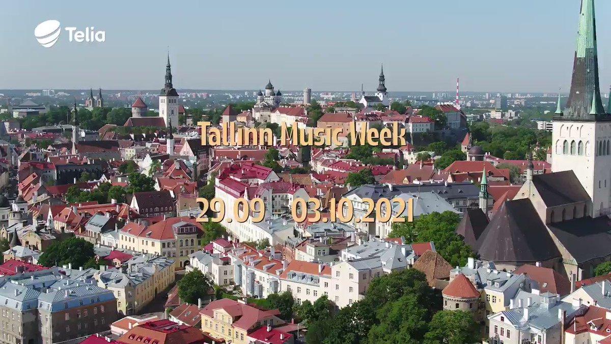 Image for the Tweet beginning: 🎤 #TallinnMusicWeek is coming, so