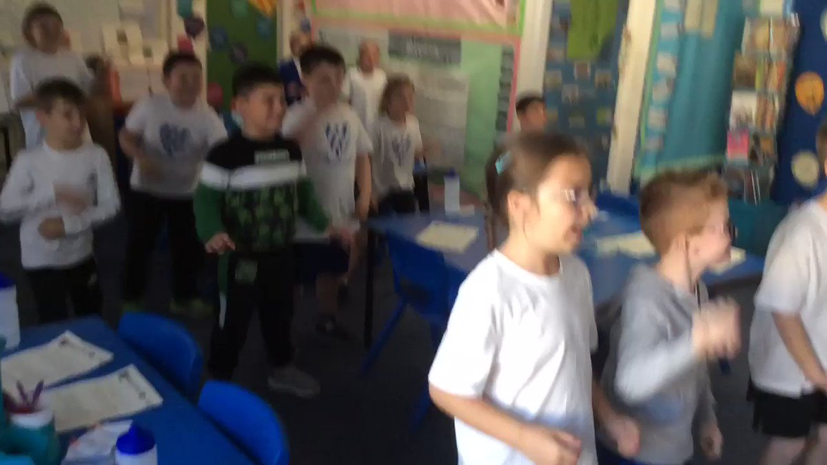 Image for the Tweet beginning: One last @GoNoodle before we