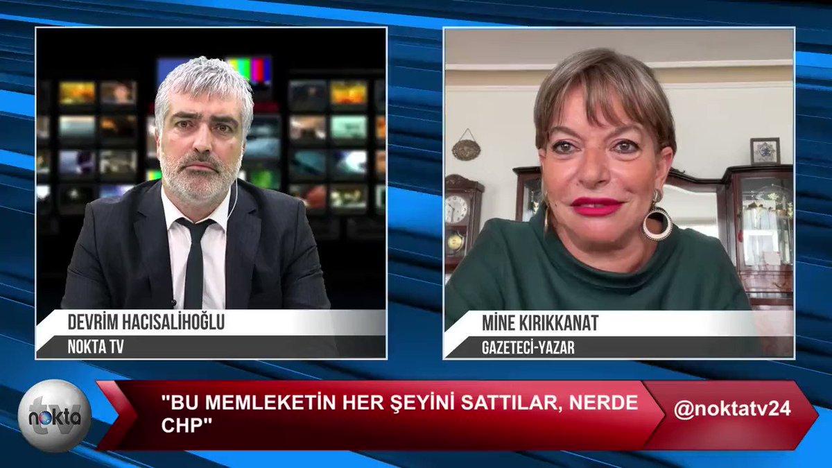 'Kılıçdaroğlu ve ekibi hakkında yandaş basının elinde, bana da ulaşan çok kapsamlı, can alıcı bir dosya var, başım derde girer, içeriğini söyleyemem.'  Mine Kırıkkanat'tan @mkirikkanat Nokta TV'de gündemi sarsan açıklamalar:  İzlemek için: youtu.be/uodULlnwWzk