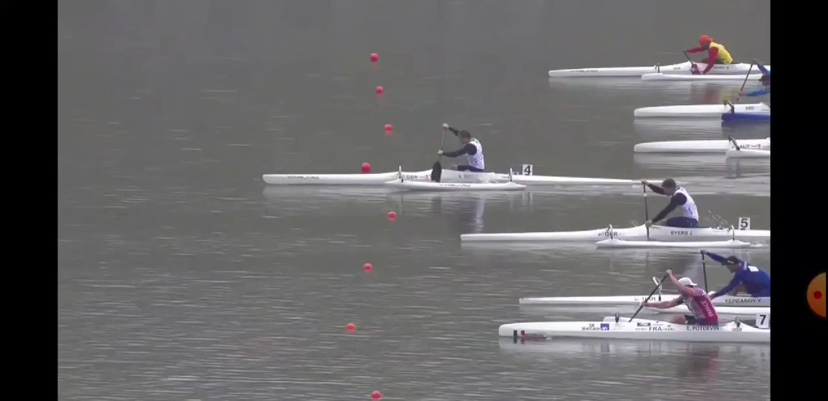 BATTLE OF THE BRITS 🇬🇧  One week ago today I was preparing for the @PlanetCanoe World Championships in Copenhagen.  This footage was captured during the final where I raced against my team mate for the top step of the podium  ... I won by the way 🤣  #justsaying #battleofthebrits