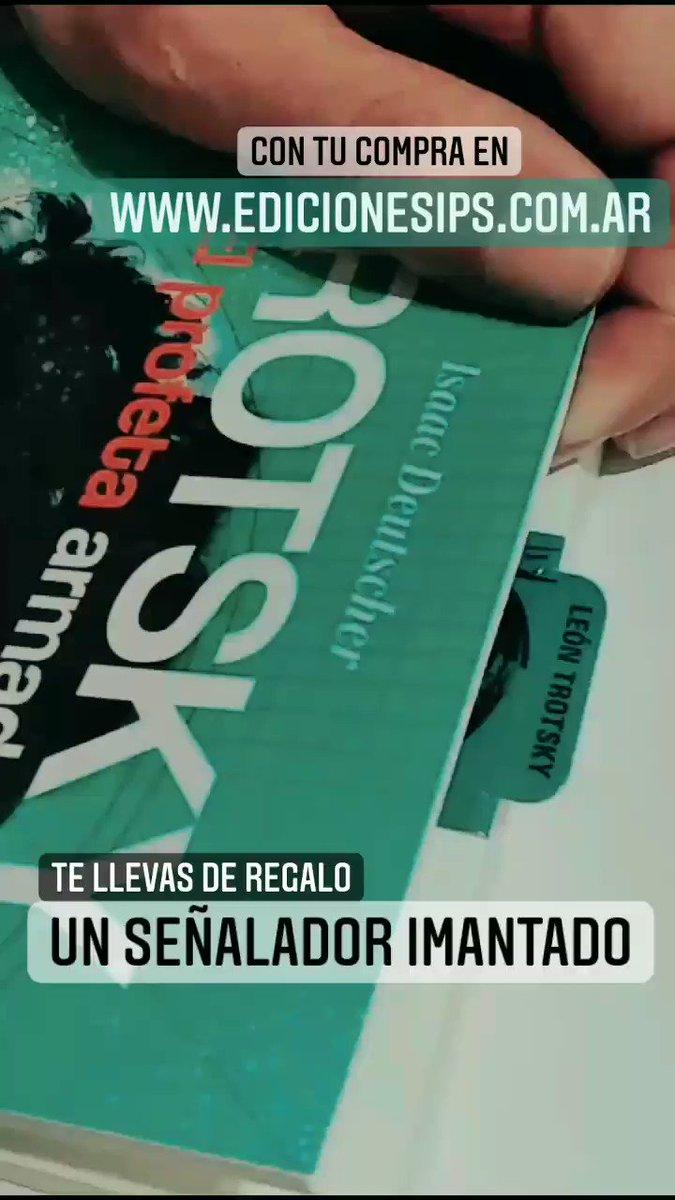 Image for the Tweet beginning: ¡Nuevos señaladores imantados de Ediciones