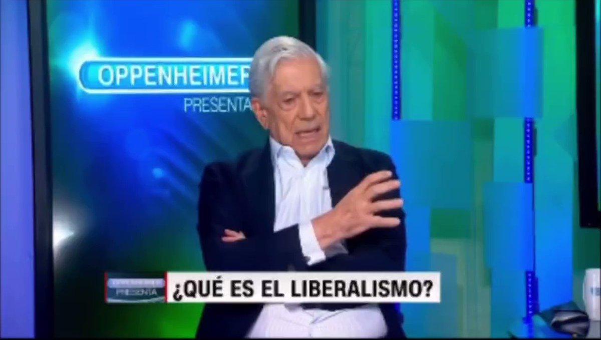 Image for the Tweet beginning: ¿Qué es el Liberalismo?