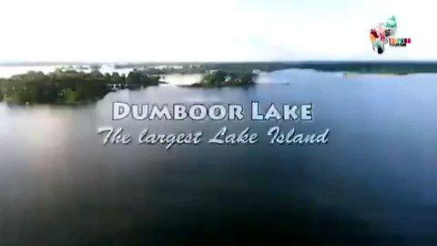 Image for the Tweet beginning: Witness the Dumboor lake in