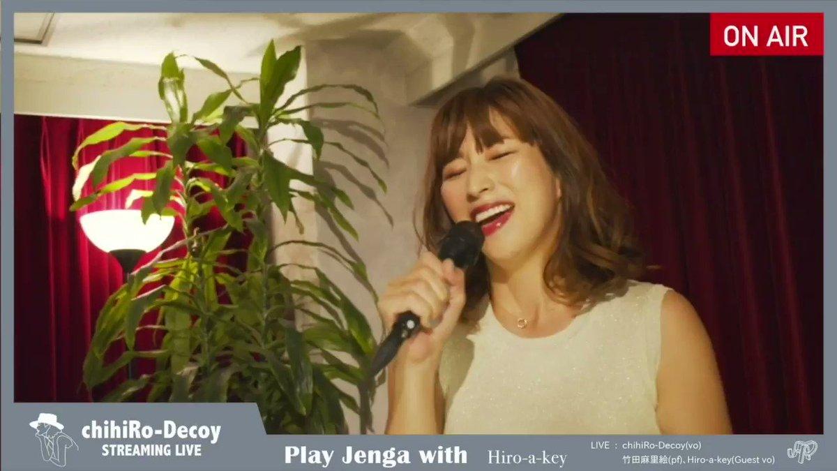 アーカイブチケット明日23:55までになります!【Play Jenga with Hiro-a-key】piano 竹田 麻里絵