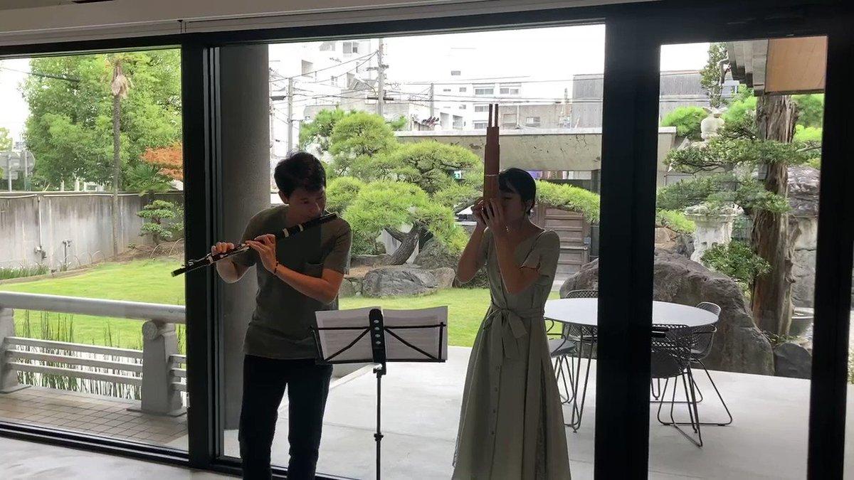 完売しました「デリバリー古楽x雅楽」リハーサル動画を公開します❣️明日の小倉貴久子さん(フォルテピアノ奏者)とカニササレアヤコさん、芸術監督の柴田俊幸の奇跡のコラボのチケット、残席若干ございます⬇️