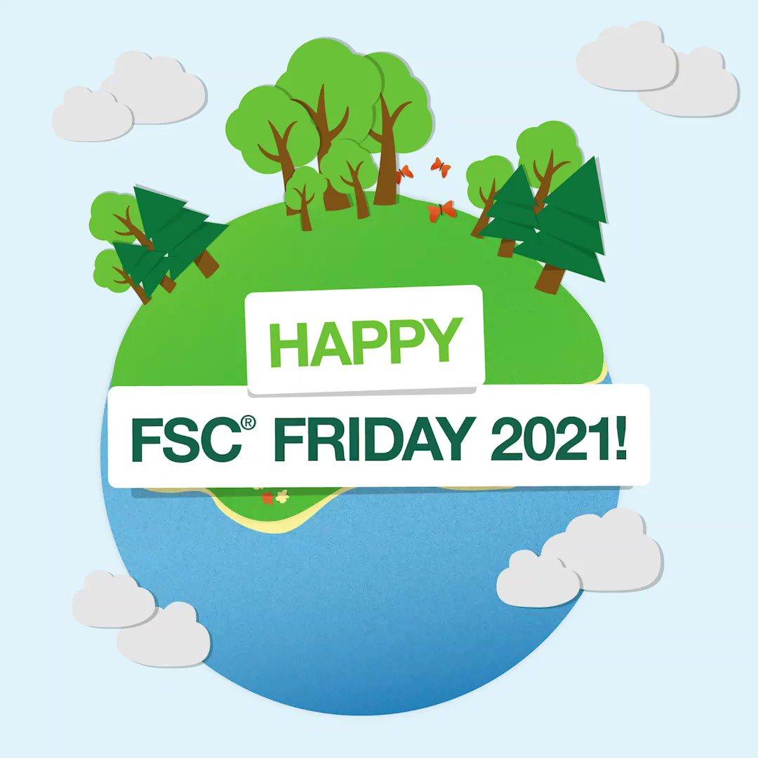 Image for the Tweet beginning: Celebrating #FSCFriday! Designed to raise