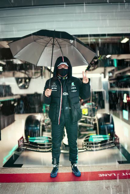 Image for the Tweet beginning: Ready for the day ☔️✌️  #VB77