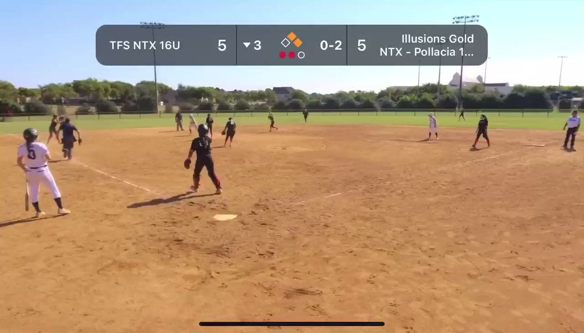 getting us out of a pickle at ss. #taggedut #softball #uncomitted @TeamTFSNTX16u https://t.co/O7FNRFi633