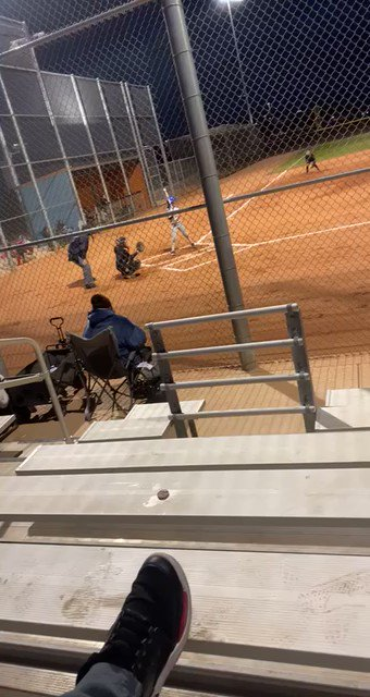 This last March I got to play up on 14u. We played Eastmark high school. I went 2 for 3 with a double, 2 RBIs and stole a base. It was so fun getting to play with my older sister @Brenna_Campos3 for the first time. @IHartFastpitch @StriveSoftball #softball #fastpitch #nofear https://t.co/2eKHKXJbi6