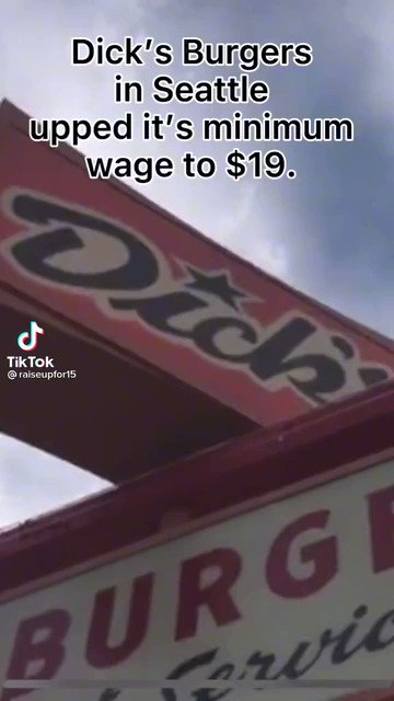 There's not a labor shortage. Pay a living wage!! #LivingWage