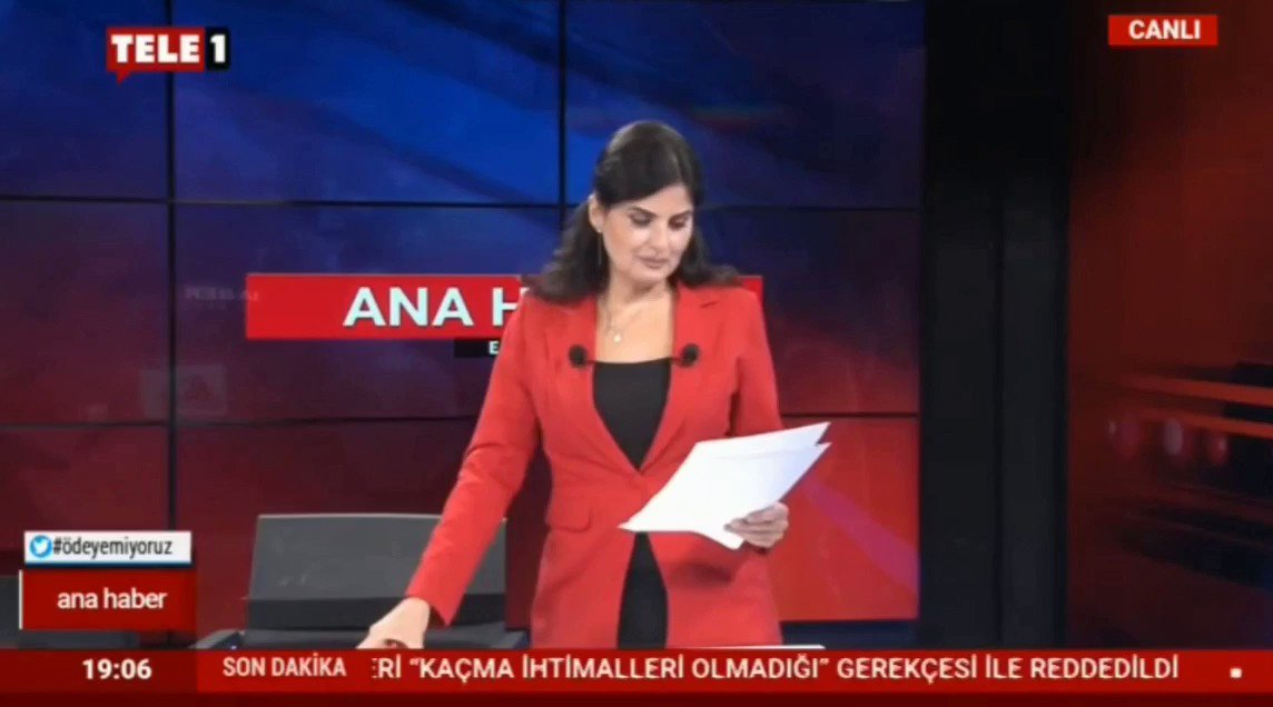 Tele 1 Tv - Ana Haber - HKP, Emine Erdoğan'ın kitabını yargıya taşıdı (@tele1comtr , @evrenozalkus , @merdanyanardag ) youtu.be/GQTMIirXw7o